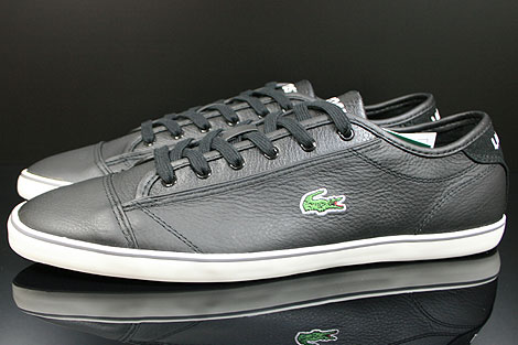 Lacoste Wyken CI SPM LTH Black Off White Profile