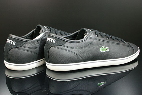 Lacoste Wyken CI SPM LTH Black Off White Back view