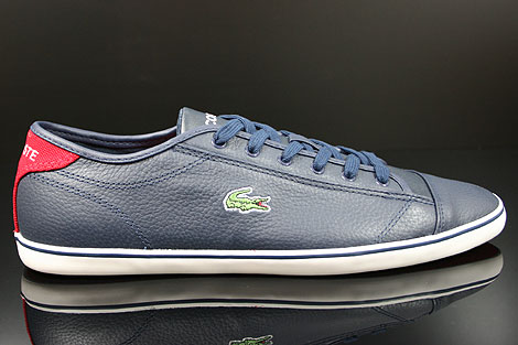 Lacoste Wyken CRE SPM LTH Dark Blue Red Right