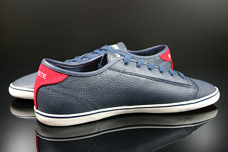Lacoste Wyken CRE SPM LTH Dark Blue Red Inside