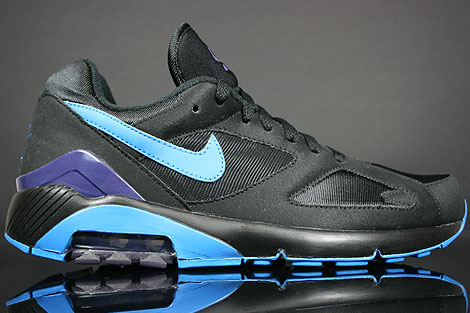 Nike Air 180 Black Photo Blue Ink