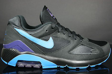 Nike Air 180 Black Photo Blue Ink Profile