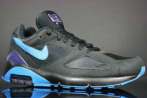 Nike Air 180 Black Photo Blue Ink Sidedetails