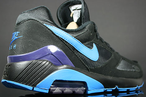 Nike Air 180 Black Photo Blue Ink Over view