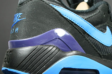 Nike Air 180 Black Photo Blue Ink Shoebox