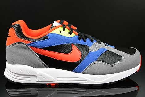 Nike Air Base 2 Black Team Orange Cool Grey Game Royal Right