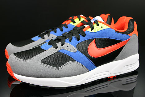 Nike Air Base 2 Black Team Orange Cool Grey Game Royal Profile