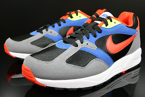 Nike Air Base 2 Black Team Orange Cool Grey Game Royal Sidedetails