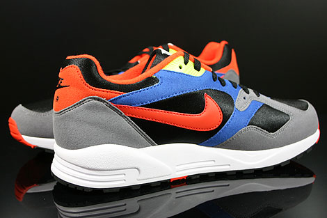 Nike Air Base 2 Black Team Orange Cool Grey Game Royal Inside