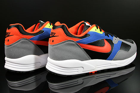 Nike Air Base 2 Black Team Orange Cool Grey Game Royal Back view