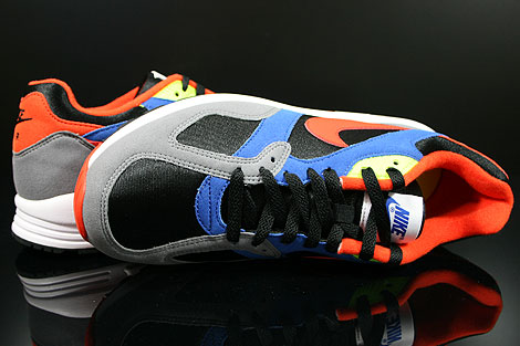 Nike Air Base 2 Black Team Orange Cool Grey Game Royal Over view