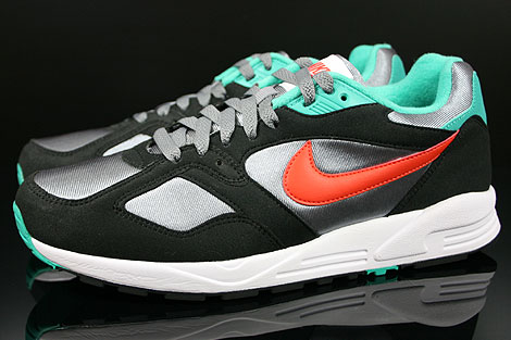 Nike Air Base 2 Cool Grey Team Orange Black Atomic Teal Profile