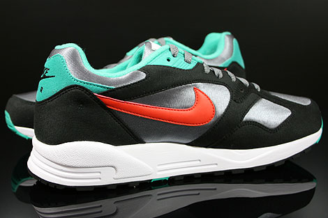 Nike Air Base 2 Cool Grey Team Orange Black Atomic Teal Inside