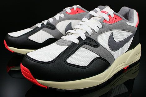 Nike Air Base 2 Vintage Sail Cool Grey Medium Grey Infrared Sidedetails