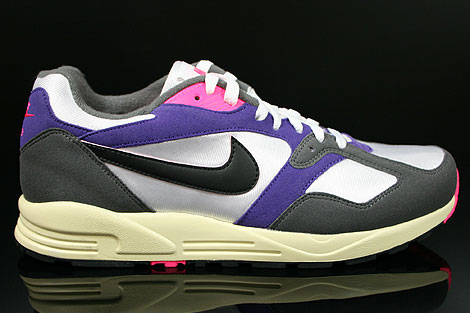 Nike Air Base 2 Vintage White Black Dark Grey Court Purple Right