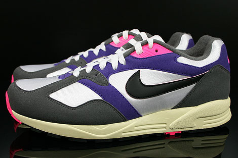 Nike Air Base 2 Vintage White Black Dark Grey Court Purple Profile