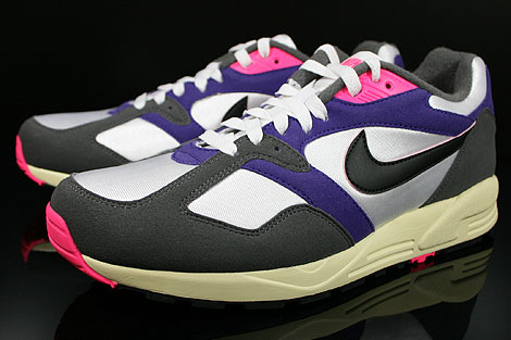 Nike Air Base 2 Vintage White Black Dark Grey Court Purple Sidedetails