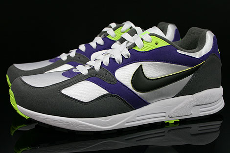 Nike Air Base 2 White Black Dark Grey Court Purple Profile