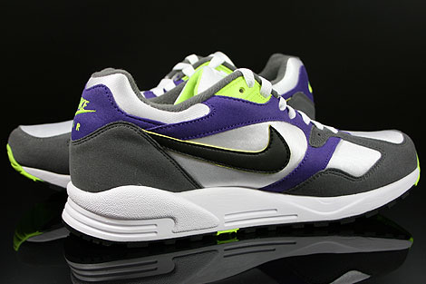 Nike Air Base 2 White Black Dark Grey Court Purple Inside