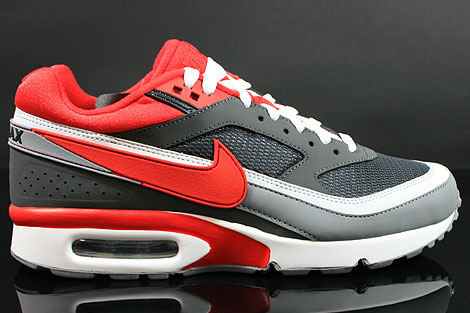 Nike Air Classic BW Textile Anthracite Red Cool Grey White