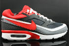 Nike Air Classic BW Textile Anthrazit Rot Grau Weiss