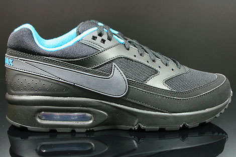 Nike Air Classic BW Textile Schwarz Anthrazit Blau