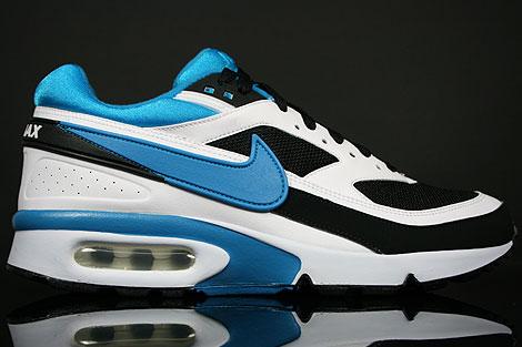 meet 321df e932b Nike Air Classic BW Black Blue Lacquer White