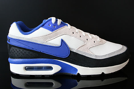 Nike Air Classic BW Textile Blau Schwarz Grau Creme