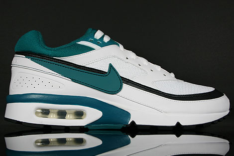 Nike Air Classic BW Weiss Tuerkisgruen Schwarz