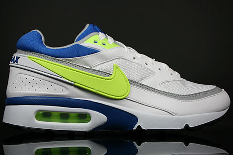 Nike Air Classic BW Weiss Hellgruen Royal Blau Grau