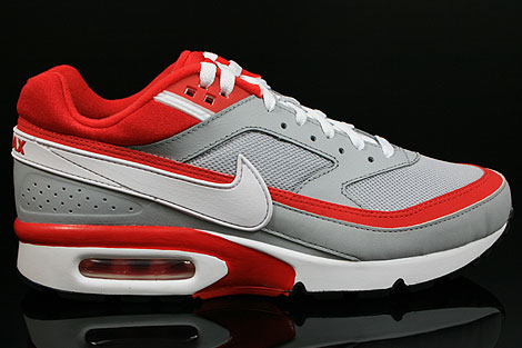 Nike Air Classic BW Textile Wolf Grey Sport Red White 358797