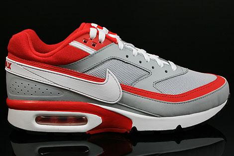 Nike Air Classic BW Textile Grau Rot Weiss Schwarz