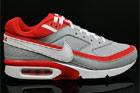 Nike Air Classic BW Textile Grau Rot Weiss Schwarz
