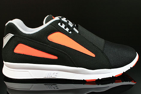Nike Air Current Black Wolf Grey Total Orange Right