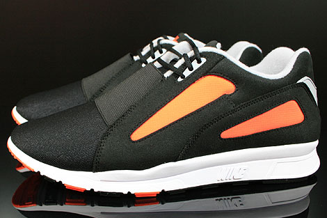 Nike Air Current Black Wolf Grey Total Orange Profile