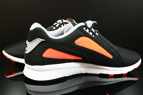 Nike Air Current Black Wolf Grey Total Orange Inside