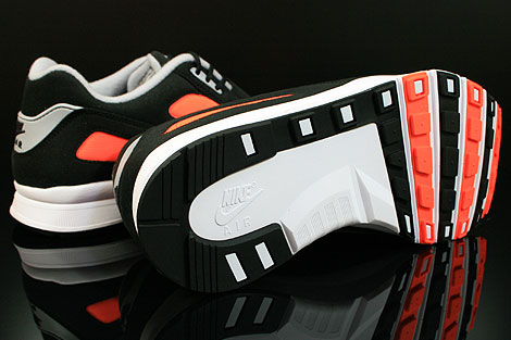Nike Air Current Schwarz Grau Orange Laufsohle