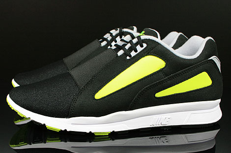 Nike Air Current Black Wolf Grey Volt Profile