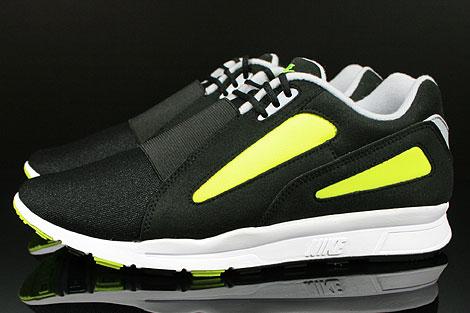 Nike Air Current Schwarz Grau Gelb Seitenansicht