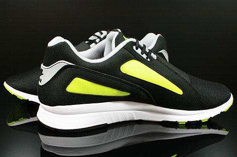 Nike Air Current Schwarz Grau Gelb Innenseite