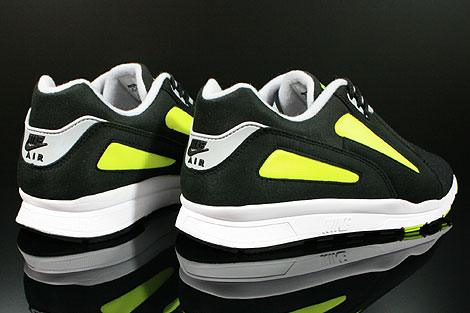 Nike Air Current Black Wolf Grey Volt Back view