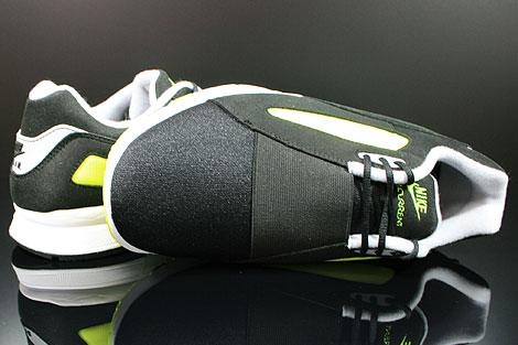 Nike Air Current Schwarz Grau Gelb Oberschuh