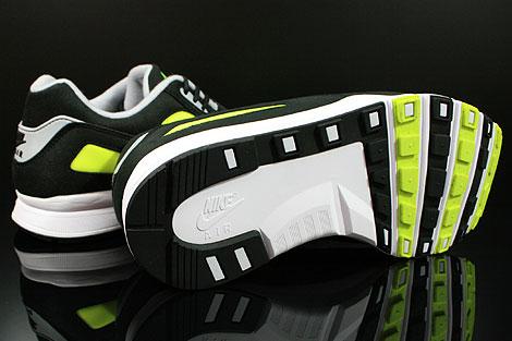 Nike Air Current Schwarz Grau Gelb Laufsohle