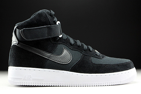 Nike Air Force 1 High Black Black White