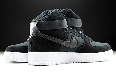 Air Force 1 Black And White High
