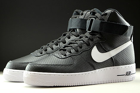 Nike Air Force 1 High Black White Sidedetails