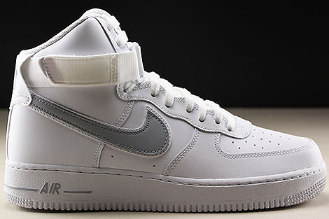 Nike Air Force 1 High White Wolf Grey