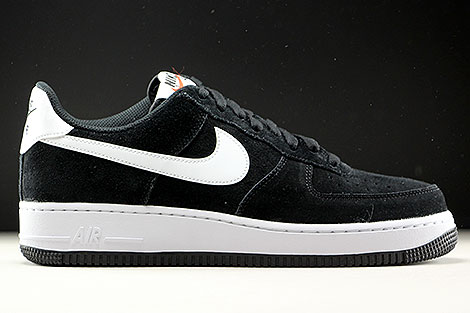 Nike Air Force 1 Low Black White Black Right