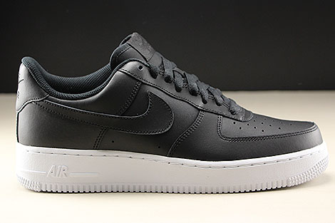 finest selection f718f 94381 ... Nike Air Force 1 Low Black White Right ...