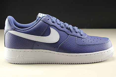 Nike Air Force 1 Low Blue Recall White Right